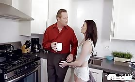 Stepdad Fucks A Several Times Hot Kinky Daughter   Creampie Xxx