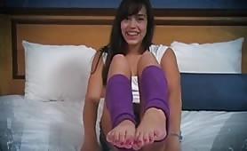 Dominating Kitten Feet