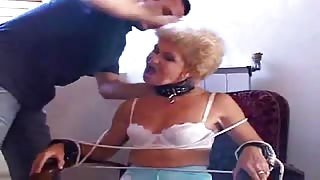 Aged Granny Gets Kinky Pussy Exam