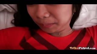 Filipina Bargirl Has A Hairy Pussy