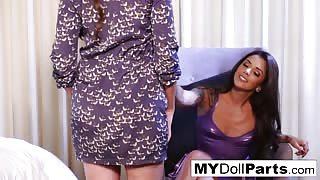 Kayla Jane Danger And Allie Eve Knox Lesbian Sex
