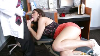 Teen With Braces Fucked At The Doctor's Office
