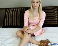 Horny Amateur Teen Accepts 1000 Dollars
