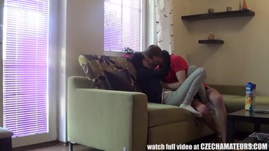 Amateur Teen Couple In The Parents House