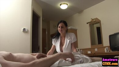 Busty Cfnm Babe Fucked By Amateur