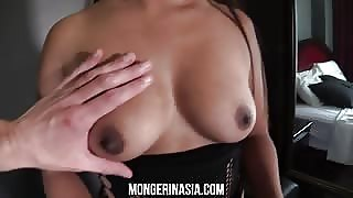 Sexy Thai Girl With Perfect Tits Is Naked
