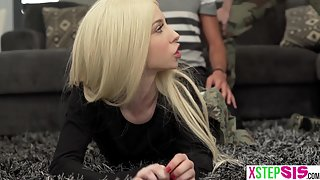Combat Training For Teen Kenzie Reeves Asked For Her Stepbrother's Help
