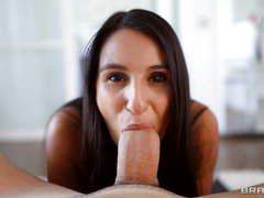 Danika Mori Guzzles The Thick Dick In POV