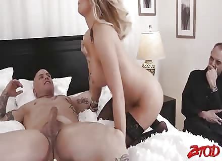Cuckold Watches Asian Trophy Wife Get Fucked 2