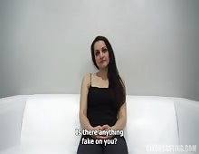 Amateur Czech Girl Gets Anal Fucked At Casting
