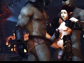 3D Scary Creatures Overwatch Porn
