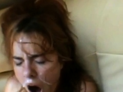 Russian Gir Facial And Cuming
