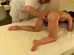 Asian Japanese Massage To Girl Turns Sexual