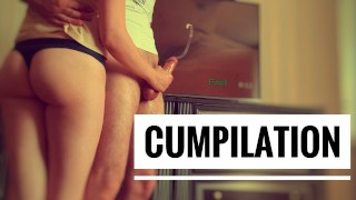 Femdom Compilation. Post Orgasm Torture