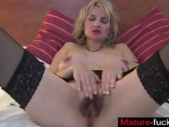 Find Her On MATUREFUCKSCOM  Posh Mature Mother With Hairy Old Cunt