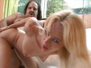 Petite Teen Blonde Fucks Dirty And Fat Old Man