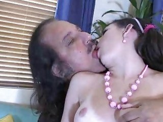 Brunette Babe Dusts Off Old Cock As She Sucks And Slurps On It
