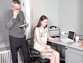 Tricky Old Teacher Fucks Straight A Student Nikka Hill And Cums On Her Belly