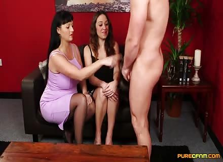 Mommy Shows Her How To Give Head