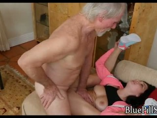 20 Year Old Gets Fucked By 70 Year Old On Viagra