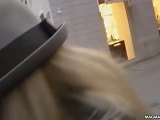 Hot Blonde German Slut Iana Gets Picked Up In The Street And Sucks Fucks And Cums In The Park Hot Public German Action