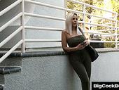 German Ample Breasted Milf Nina Elle Hooks Up With Well Endowed Neighbor