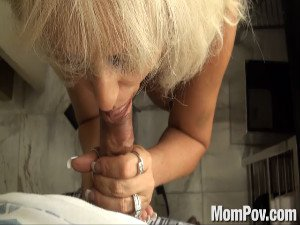 54 Year Old Cougar Does Anal