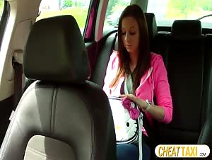 Beautiful Natalie Scammed And Fucked In Taxi